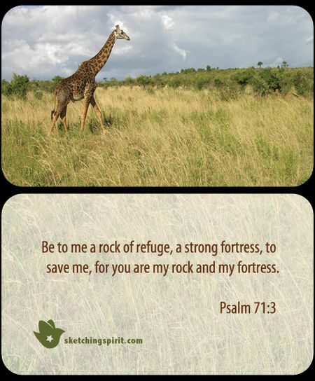PrayercardGiraffe